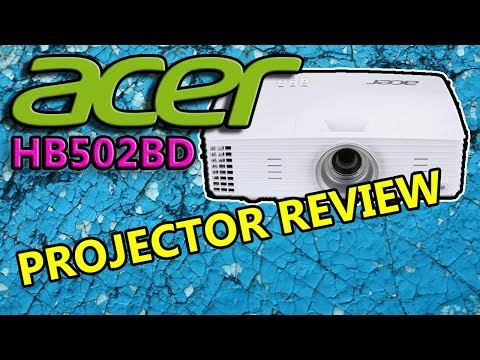 Acer H6502BD Projector Unboxing + First Look Review + Setup & Audio