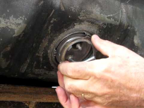 Installing Ford fuel sending unit YouTube