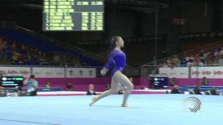 Aliya MUSTAFINA (RUS), EC Brussels 2012, floor