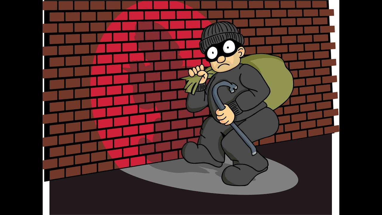 List Of Synonyms And Antonyms Of The Word: Robbery Cartoon