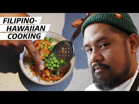 Cooking a Filipino-Hawaiian Feast with Chef Sheldon Simeon — Halo Halo