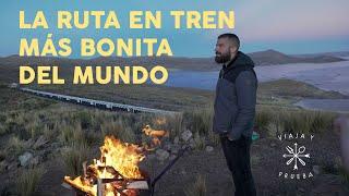 Viaja y Prueba en el tren mas bonito del mundo. Cusco, Puno y Arequipa en Tren.