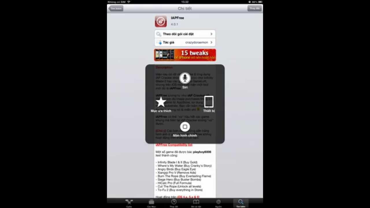 Hướng dẫn hack game trên ios (iphone/ipad/ipod) thành công 100%!!!