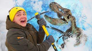 Эти жуткие и опасные находки мы нашли во льдах где лежат динозавры