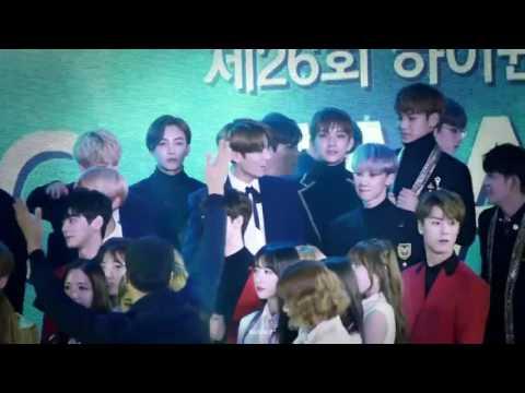 BTS, GOT7, EXO, BLACKPINK, SEVENTEEN interaction SMA ending