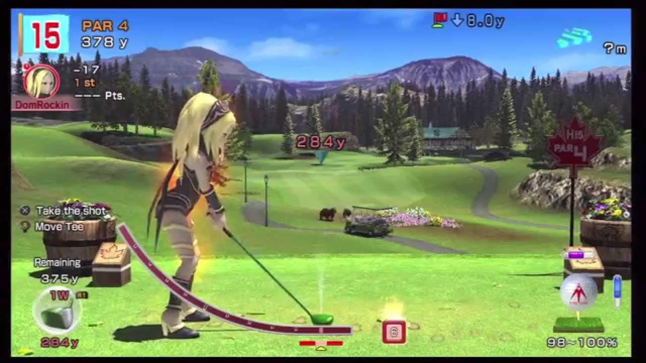 Hot Shots Golf World Invitational 22 Maple Leaf Golf Club
