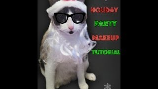 Holiday Party Makeup Tutorial Thumbnail