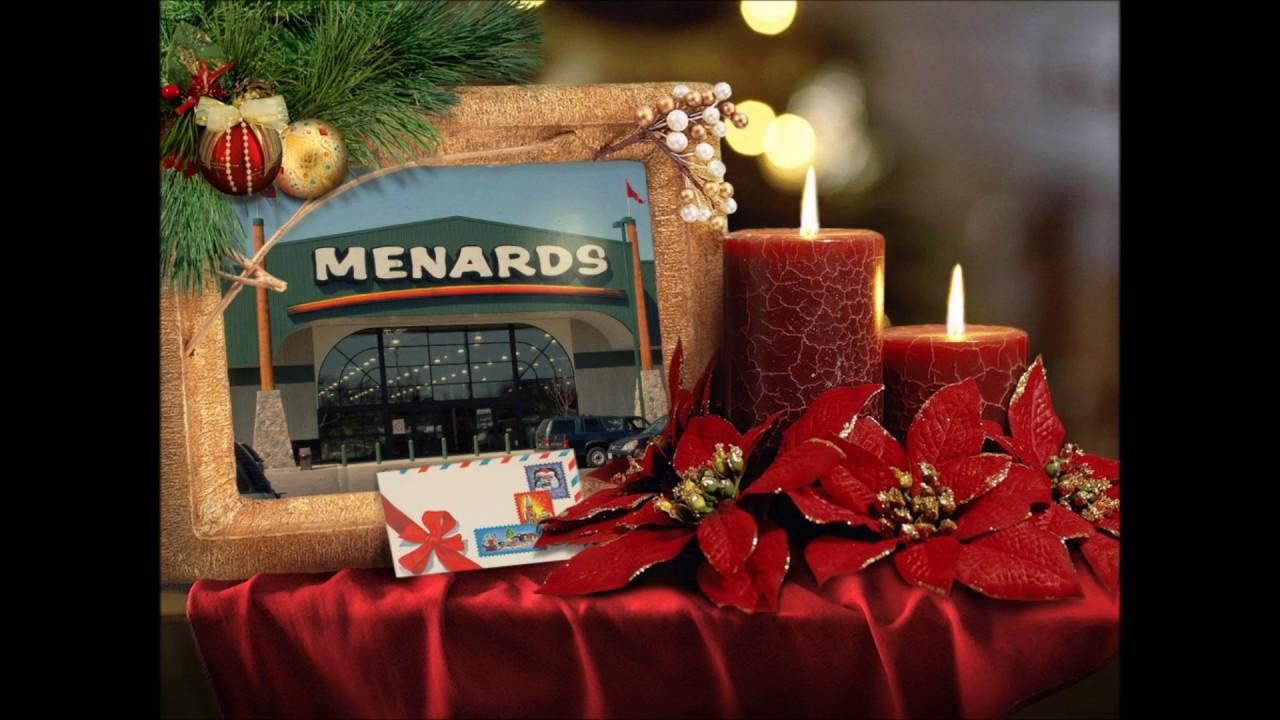 Menards Christmas Jingle - YouTube