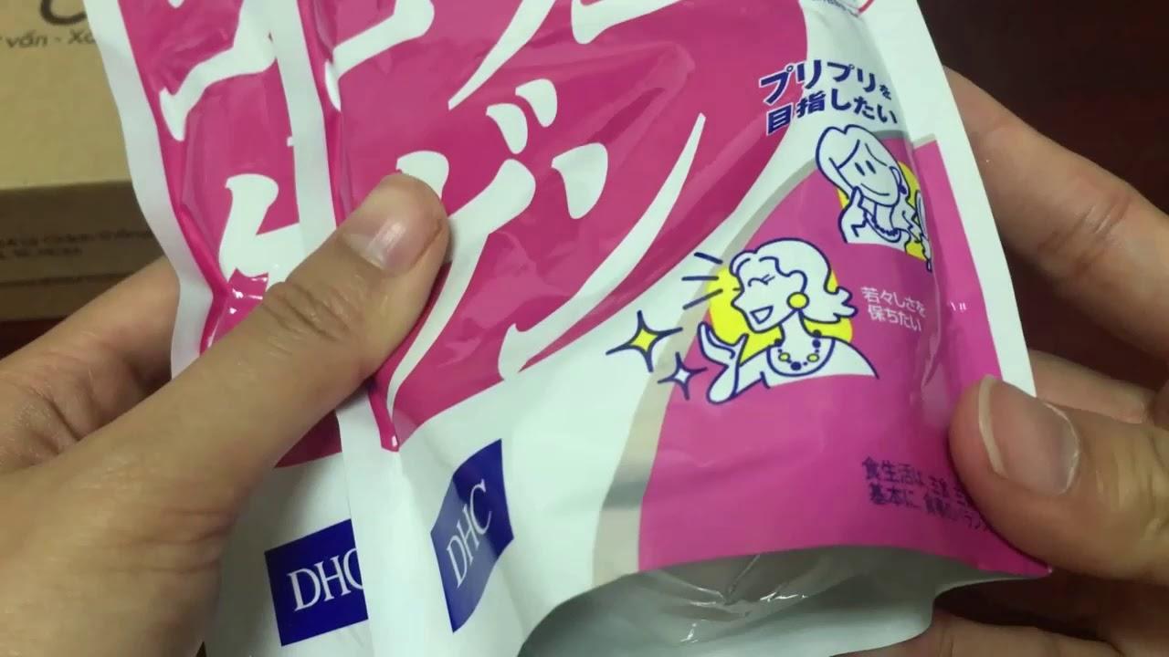 Review viên uống Collagen DHC Nhật Bản – Khỏe & Đẹp
