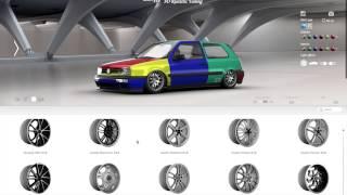 Volkswagen Golf Mk 3 Harlequin 3D Tuning