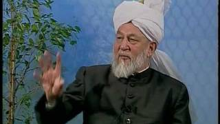 Liqa Ma'al Arab 9 April 1998 Question/Answer English/Arabic Islam Ahmadiyya