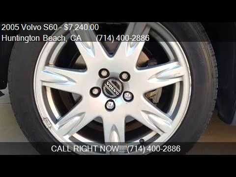 2005 Volvo S60 2.5T For Sale In Huntington Beach, CA 92648 A