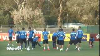 Προπόνηση Εθνικής Ανδρών 6/10/14 | Greece National Team Training