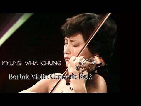 (ReUp) Kyung Wha Chung plays Bartók violin concerto No.2