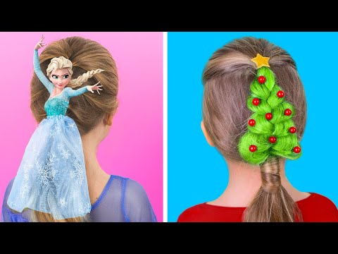 10-cute-hairstyle-ideas-for-girls-/-christmas-hairstyle-ideas