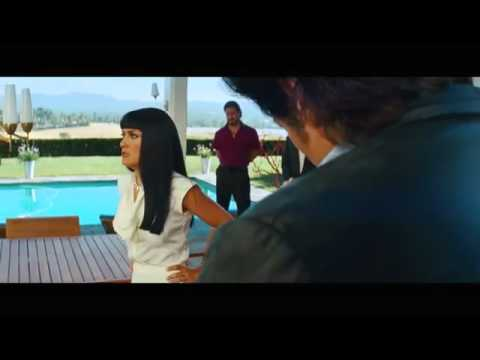 Elena (Salma hayek) confronta a Ledo (Benicio del Toro) sin Censura. SAVAGES