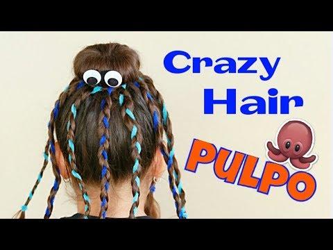 Peinado Loco Pulpo Halloween Susana Ortiz Youtube
