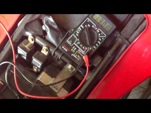 What a faulty regulator/rectifier does