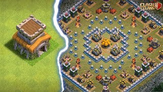 TOWNHALL 8 VS 'BESIEGED' GOBLIN MAP   Clash of Clans  