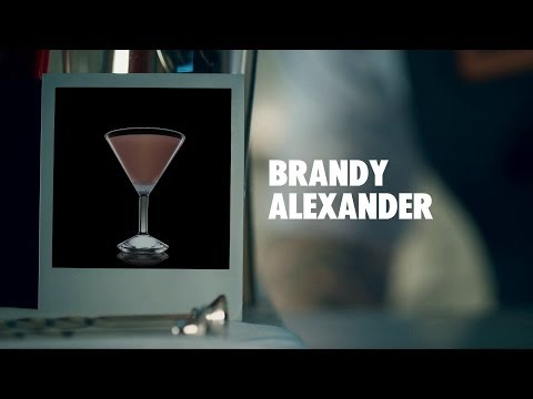BRANDY ALEXANDER DRINK RECIPE - HOW TO MIX