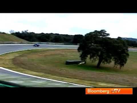 Autocar: Jaguar XJ Supersport test drive at Ascari track