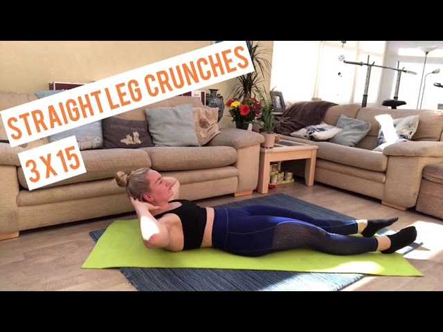 Best At Home AB Workout (NO EQUIPMENT!)