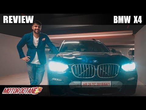 BMW X4 Review - Want A Fun SUV! Hindi | MotorOctane