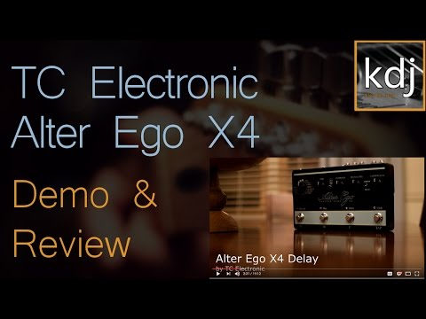 TC Electronic Alter Ego X4 Demo & Review