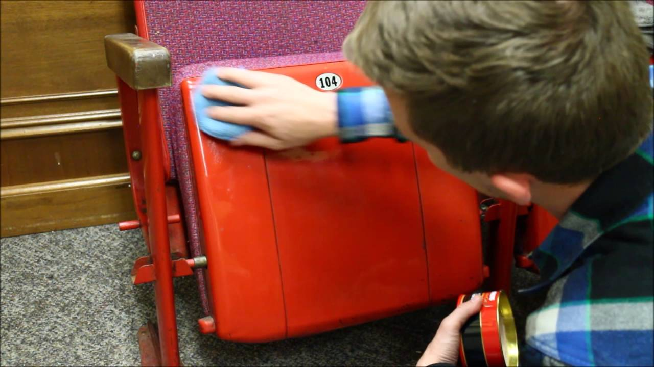 Clean Up And Re Sell Of Vintage Movie Theater Seats.