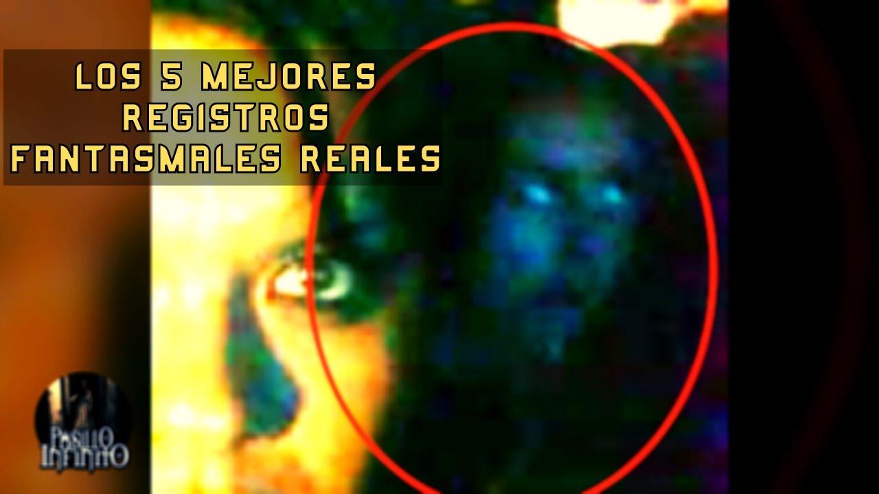 TOP 5 DE LOS MEJORES REGISTROS FANTASMALES REALES l Pasillo Infinito