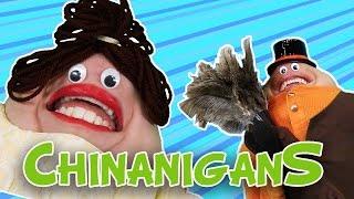 Chinanigans | WigglePop | Chin Puppets