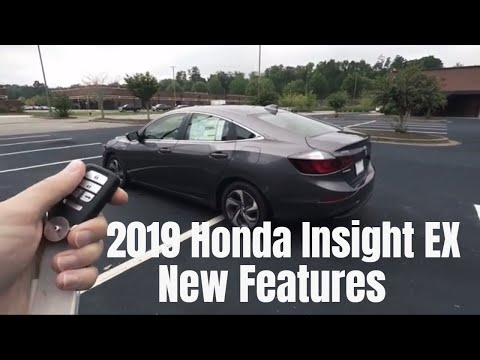 2019 Honda Insight EX Features