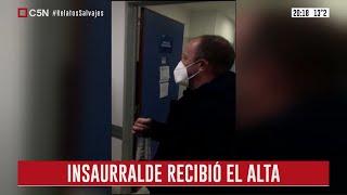 Lomas de Zamora: El intendente Martín Insaurralde recibió el alta