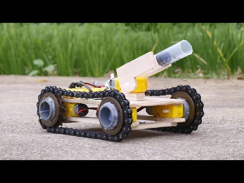 How to Make a Simple RC Tank at home