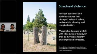Structural Violence: The role of poverty, trauma and stress in mental health and addictions