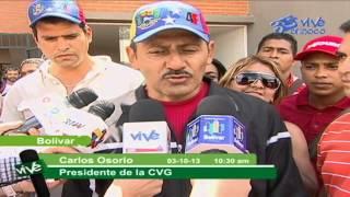 GMVV ENTREGÓ 80 APARTAMENTOS ESTE JUEVES DE VIVIENDAS EN EL MUNICIPIO CARONÍ