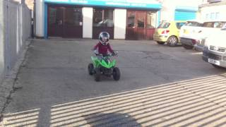 Kids Quad Bike - Eco Warrior Electric Quad