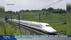Texas bullet train one step closer to reality with $300M loan
