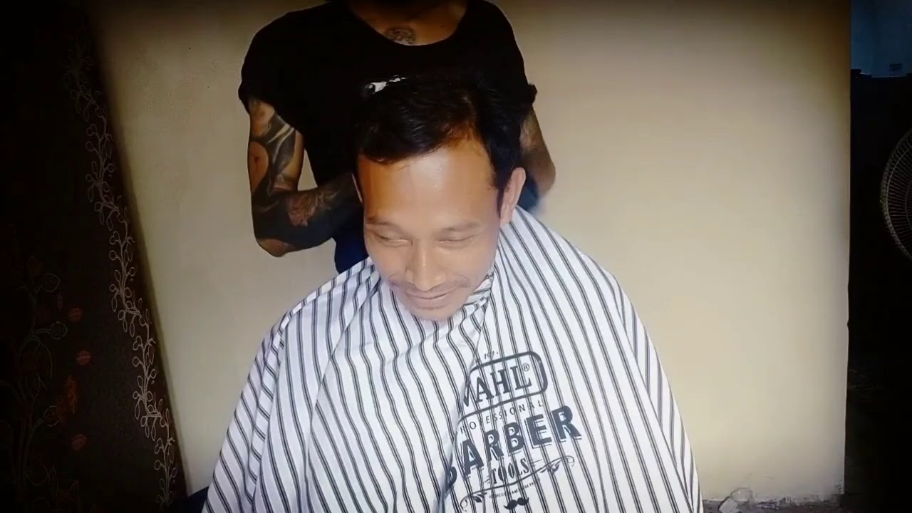 Potong Rambut Rata