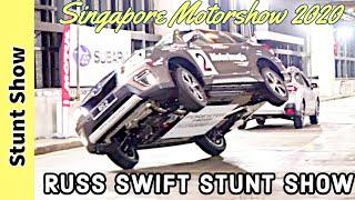 Cover images Russ Swift Stunt Show : Singapore Motorshow 2020