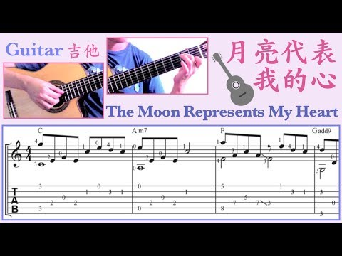月亮代表我的心 /鄧麗君 (吉他) The Moon Represents My Heart /Teresa Teng (Guitar)
