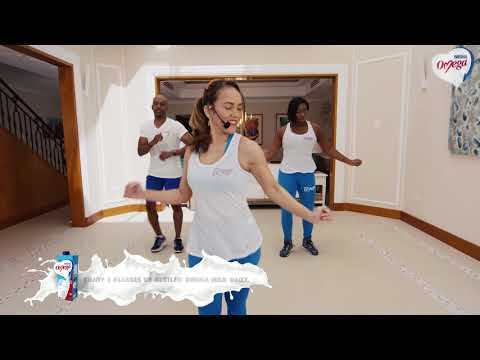 Nestlé OMEGA Milk Fitness Video # 1 - Zumba