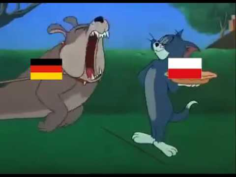 Poland vs Germany Euro 2016 !!!!!!! Trailer  Tom and Jerry !!!