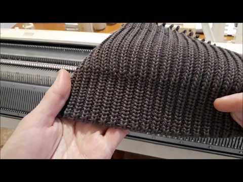Английская резинка подробно  Возможные трудности при вязании резинки с накидами