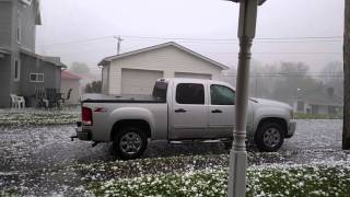 HAIL STORM on April 28, 2016