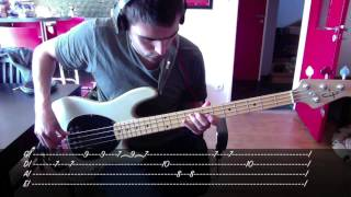 RHCP - Californication Bass Cover with Tab