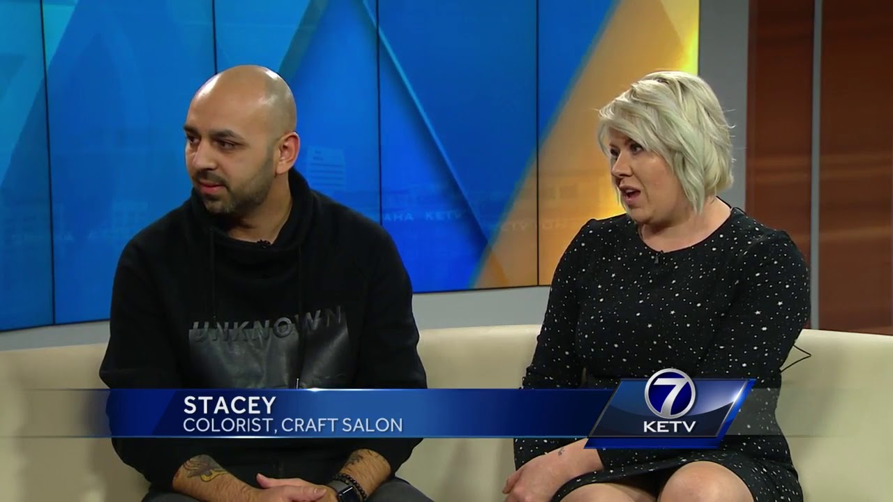 Local Salon Providing Free Haircuts For Foster Kids Youtube
