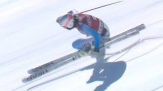 American Bode Miller crashes in Chamonix- from Universal Sports