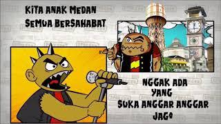 DPNKGRN - Kita Anak Medan - Band Punk Virtual ( Musik Animasi )
