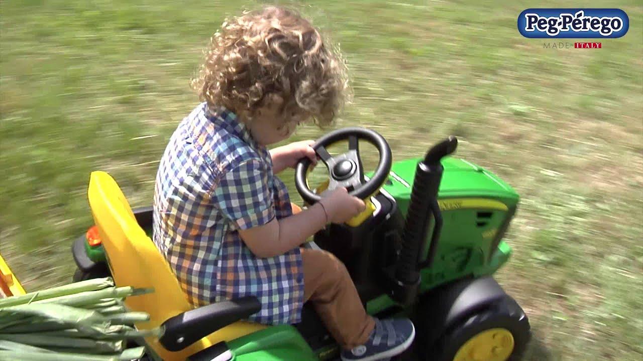 Детский электромобиль Peg Perego John Deere Ground Force